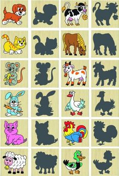 Detoa Pexeso zvieratká a ich tiene Cute Powerpoint Templates, Cicely Mary Barker, Lego Duplo, Interactive Notebooks, Montessori, Activities For Kids, Preschool, Teacher, Visual Perceptual Activities