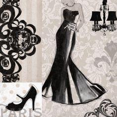 Little Black Dress Lámina