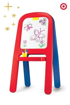 The perfect gift for the little artist in your life. The Cra-Z-Art Magnetic Easel is multifunctional and fun, and allows kids to explore a variety of art projects.The perfect gift for the little artist in your life. Floor Easel, Art Easel, Artists For Kids, Kids Sleep, Kids Christmas, Christmas Presents, Toys For Girls, Kids Toys, Plastic Art