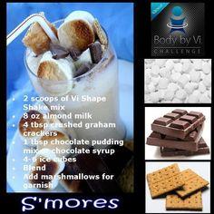ViSalus S'mores Shake Recipe  http://jessicagustin.myvi.net
