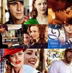 The notebook movie collage