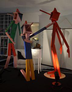 Pinocchio's Friends Design By Andrea Losio .