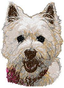 Advanced Embroidery Designs - West Highland White Terrier