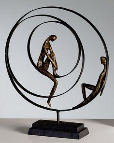 Casablanca Skulptur 'Patience', 34 x 41 cm, bronze