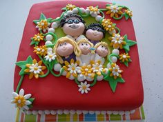 Cabbage Patch Doll Cake