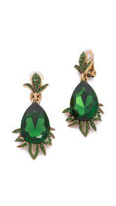 dabb7b12e Crystal Earrings, Beautiful Gowns, Swarovski Crystals, Oscar De La Renta,  Pretty Homecoming