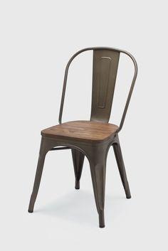 Roasted Cafe stol med träsits