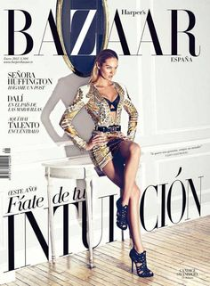 Swanepoel Covers Harper's Bazaar Spain January 2012 in Balmain Candice Swanepoel Covers Harper's Bazaar Spain January 2012 in Balmain - lauraandreakell.Candice Swanepoel Covers Harper's Bazaar Spain January 2012 in Balmain - lauraandreakell. Candice Swanepoel, Vanity Fair, Magazin Covers, Spain Fashion, Style Fashion, Fashion Beauty, Magazin Design, Harper's Bazaar, Vogue Covers
