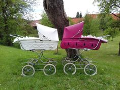 Baby Carriage, Prams, Baby Strollers, Retro, Children, Baby Cars, Pram Sets, Archive, Baby Buggy