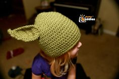 Cute Yoda hat to crochet