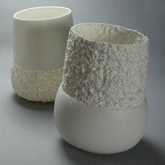 Monika Patuszyńska Ceramic Vase, Ceramic Pottery, Wood Stone, Contemporary Ceramics, Ceramic Artists, A Table, Candle Holders, Creations, Bottles