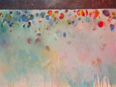 """Corre Alice: Lighter Than Air 48"""" x 36"""""""