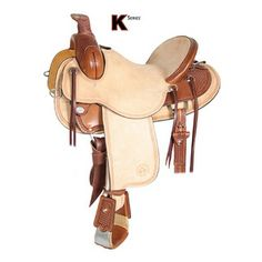 Roping & Ranch Saddles - Circle Y Saddlery - Circle Y Crossfire K Series Ranch Saddle - The Stagecoach West