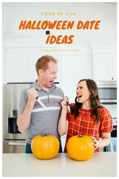Tons of fun Halloween date ideas for a creepy or cute Halloween date night! #fridaywereinlove