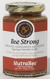 Bee Strong is a carefully formulated blend of organic Ceylon cinnamon and pure raw honey.  Cinnamon has a number of reputed health benefits including helping to regulate blood sugar levels, acting as an anti-microbial agent, reducing inflammation, and lowering LDL cholesterol levels.