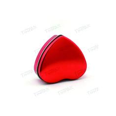 Metal heart tins. http://www.tinpak.us/Heart/metalhearttins.html heart shaped tins wedding favors