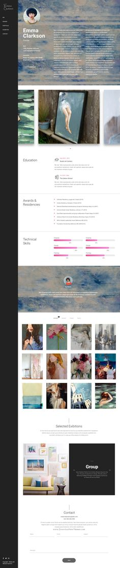 Infinite - Responsive Multi-Purpose WordPress Theme Wordpress - resume website builder