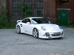 2007 edo competition porsche 997 shark white front and side 1280x960 wallpaper