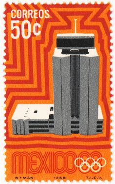 Radiant Discord: Lance Wyman on the Olympic Design and the Tlatelolco Massacre Mexico Olympics, 1968 Olympics, Mexico 68, Mexico City, Lance Wyman, Love Stamps, Badge Design, Mexican Art, Ms Gs