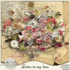"""Lilas design: Collection """"Letter to my love"""""""