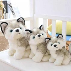 Best Price of Cute Plush Toys Simulation Husky Stuffed Dolls Soft Real Life Plush Toys For Children Birthday Gifts Dog Toys, Baby Toys, Toys For Boys, Kids Toys, Wolf Stuffed Animal, Dinosaur Toys, Birthday Gifts For Kids, Chihuahua Puppies, Cute Plush