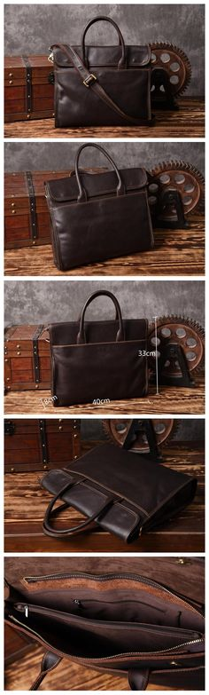 Notebook or Desktop Computer – Which Should You Choose? Leather Gifts, Leather Bags Handmade, Handmade Bags, Crea Cuir, Laptop Bag, 17 Laptop, Laptop Briefcase, Leather Anniversary Gift, Photography Bags