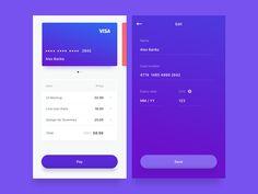 Checkout UI by Alex Marin