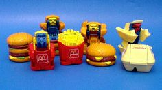 McDonalds Food Changeables toys
