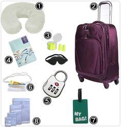 Apetrechos de viagem: Compras