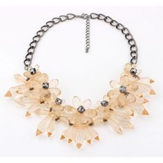 New 2014 Flower Party Chokers Necklace Exaggerate Statement Necklace Trendy Jewelry Cheap Choker Necklace, Beaded Statement Necklace, Fashion Necklace, Necklace Set, Fashion Jewelry, Pendant Necklace, Trendy Jewelry, Jewelry Gifts, Korean Jewelry