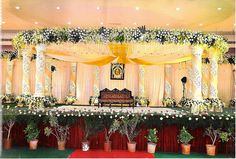 Mark1 Decors Wedding Stage Decorators In South India We Flickr