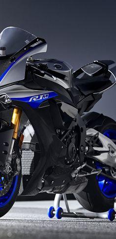 4k, la Yamaha YZF-R1M, pista de carreras, 2018 bicicletas, sportsbike, Yamaha