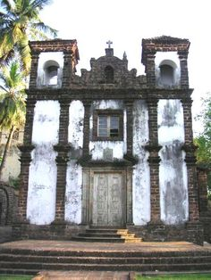 Church in Goa, India.