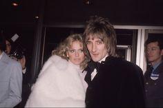 Britt Eklund and Rod Stewart 1975, Getty Images Vogue Magazine