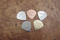 Metal guitar picks of BWC #reverbdotcom