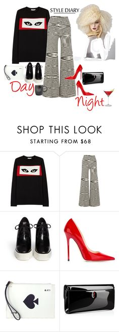 """""""$ Work & Play $"""" by obsessedaboutstyle ❤ liked on Polyvore featuring Bella Freud, Missoni, STELLA McCARTNEY, Jimmy Choo, Kate Spade, Christian Louboutin and Printable Wisdom"""