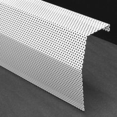 Rustproof DIY perforated baseboard heater cover (custom lengths)
