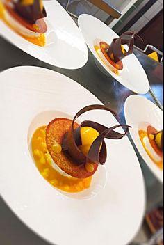 michel baltzer (dessert presentation fine dining)