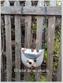 """BANDOLERA """"HIXIE"""" diseño de Lily Gallardo"""