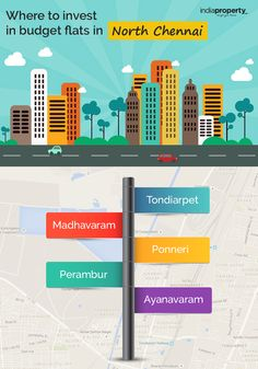 Where to invest in budget flats in North Chennai  Are you looking for luxury flats in North Chennai in your budget. Instant who is like to  invest in budget flats in North Chennai. Get Completed details from Indiaproperty.com  For More: http://www.indiaproperty.com/chennai-north-zone-properties
