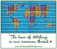 The love of stitching is our common thread