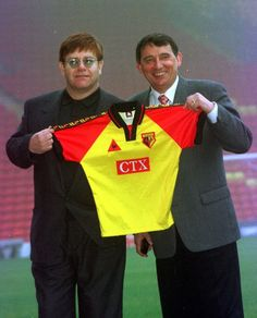 Elton John pays an emotional tribute to Graham Taylor Bernie Taupin, Watford Fc, Captain Fantastic, Candle In The Wind, Soccer Fans, Superstar, Singer, Football, Graham