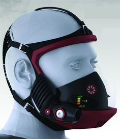 Self Contained Breathing Apparatus. #WearableTech