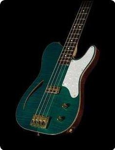 2010 Elara Custom Guitars Teal 4-string Bass