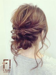 【F PLUS!-エフプラス-】ふんわりルーズアップ/hairmake&nail F PLUS!【エフプラス】をご紹介。2017年冬の最新ヘアスタイルを100万点以上掲載!ミディアム、ショート、ボブなど豊富な条件でヘアスタイル・髪型・アレンジをチェック。