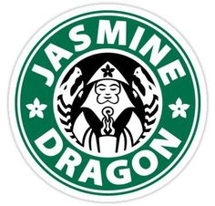 The Jasmine Dragon Stickers