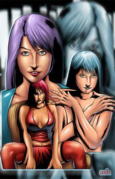 girls by ashasylum.deviantart.com on @DeviantArt