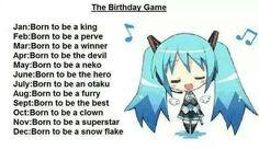 born to be an otaku