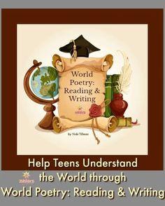 Help Teens Understand the World through World Poetry - 7sistershomeschool.com