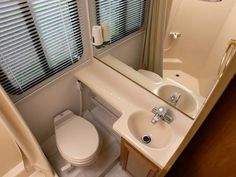 narrow bathroom cabinet layout design - whoa. That's tiny! must be a rv or boat